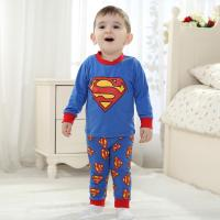 Quality Brand baby clothes baby cotton long sleeve superman suit (0-3 Year) for sale
