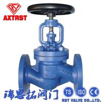 1-1/2-36 Cast Steel Globe Valve Stainless Steel DIN 3202 Flanged End