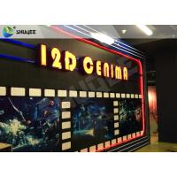 Quality Entertaining 5D Cinema Seats With Motion Effect / Electric System For Amusement Park for sale