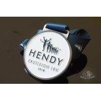 Quality Run Run Or 10K Marathon Custom Award Medals HENDY Sports Logo Filling Soft Enamel for sale