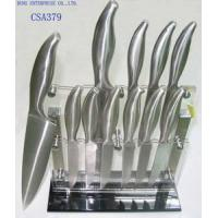 Quality Cutlery Knife Set with Acrylic Block for sale
