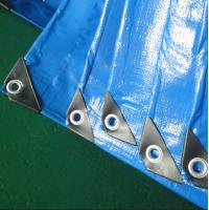 China PE tarpaulin waterproof outdoor plastic cover blue poly tarpn hdpe fabric on sale