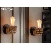 Quality Fist Shape Bedroom Loft Indoor LED Wall Lights Sconce LED Edison Style Home Lighting for sale