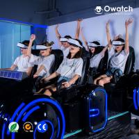 Quality 2019 HOT SALE!! High Quality Interactive Dynamic Platform Cinema Simulator 6 Seats 9D VR Family Simulator for sale