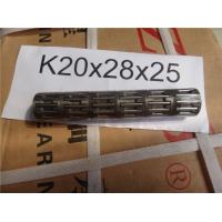 China Radial Needle Roller Bearing , Cage Assembiles K 20 X 28 X 25 MM on sale