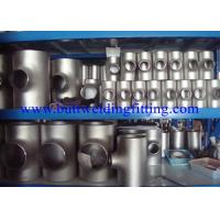 "China Alloy 800 / Incoloy 800 / NO8800 / 1.4876 But Weld Fittings Reducer Tee 1"" To 48"" SCH10S To SCH160S ASME B16.9 on sale"