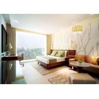 Quality Comfortable Commercial Hotel Furniture With Marble Top Coffee Table for sale