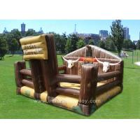 Quality Outdoor Funny Inflatable Sports Games Comercial Electronic Bull For Kids for sale