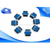 Buy 2 Port SC UPC Fiber Adapter Single Mode Duplex Blue Black Dust Cap at wholesale prices