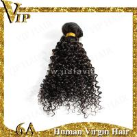 Quality Factory outlets Queen India Virgin Hair Products 24 inch Black Deep Curly Human Hair Weave for sale