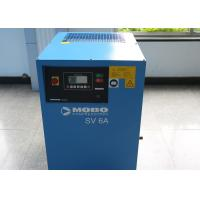 10HP Variable Frequency Drive Compressor , Portable Rotary Screw Air Compressor Low Noise