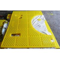 Quality Polyurethane Drilling Rotary Table Safety Anti - Slip Mats for sale