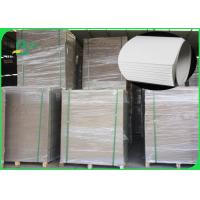 China 1.0MM 1.2MM 1.5MM White Card Board / Ivory Paper 400GSM One Side Glosssy on sale