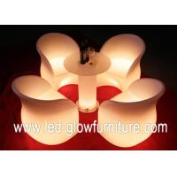 Quality Flower shape 8 - 32 Color And 4 RGB Color Changed LED Sofa for club disco pub for sale
