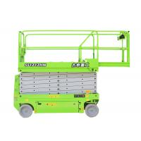 Quality Green Self Leveling Scissor Lift For Building for sale