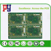 China Multilayer Electronic Printed Circuit Board , Custom Pcb Board 1.6MM Thickness on sale