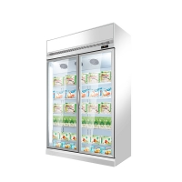 Buy cheap Large Capacity Single Temperature Refrigeration Equipment Cold Drink Display from wholesalers