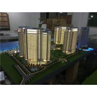 Quality 1/75 Scale Architectural House Models Builder With Light / High Rise Scale Residential Maquette for sale