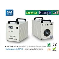 Buy cheap S&A water-cooled chiller CW-3000 AC220V, 50Hz for co2 laser or CNC spindle from wholesalers