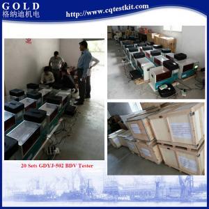 Quality BDV Testing Transformer Oil Test Equipment, 100kV Transformer Oil BDV Testing Kit for sale
