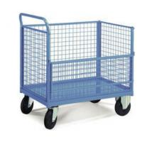 Quality Collapsible Transship Metal Pallet Box With Wheels For Warehouse for sale