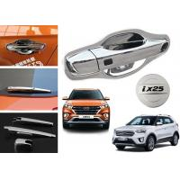 Quality Hyundai 2014 2015 2019 Creta IX25 Chromed Fuel Tank Cap Cover , Handle Cover , Mirror Cover for sale