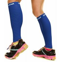 Quality Comfortable Thigh Compression Sleeve , Men & Womens Shin Compression Sleeve for sale