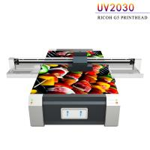 Quality Multi Color UV Flatbed Printing Machine , Digital Flatbed UV Printer for sale