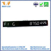 Quality Customized Segment ETN Negative Black LCD Display For Automobile Meter/ Car Audios/Car Stereos for sale