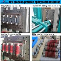 Quality best price APG vacuum pressure gelation equipment for apg process for power transformer for sale