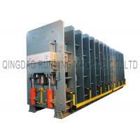 Quality High Efficiency Steel Cord Rubber Conveyor Belt Vulcanizing Press Machine With 1.10MN Tension Force for sale