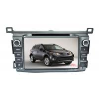 China 8 Inch Toyota Rav4 GPS Navigation System With In Dash Car DVD Player on sale