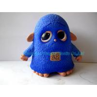 Quality Blue Owl Figure Customized Toy with Two-dimensional Code Function Plastic Toy for sale