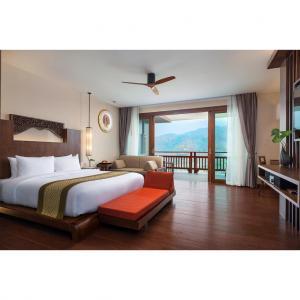 China OEM Contemporary Bedroom Furniture Sets Rosewood , Ebony , Teak Veneer on sale