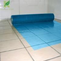 Quality 0.03-0.2mm Blue Manufacture Floor Protective Film for wholesale for sale