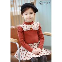 Quality Wave point lace collar girls dress,baby dress,children dress for sale