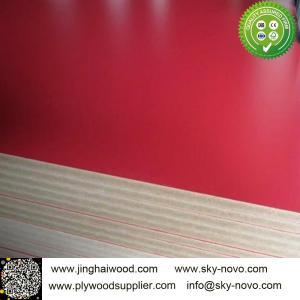 China Solid color melamine boards on sale