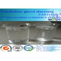 Triethylene Glycol Diacetate Foundry Chemicals 111-21-7 C10H18O6 For Extraction Agent