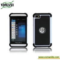 Quality PC hard case for Blackberry Z10, double color case for sale