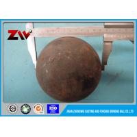Quality Low carbon SAG mill grinding balls low breakage diameter 125mm for sale
