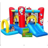 Quality Funny Carton 4m Commercial Bounce Houses Double And Quadruple Stitching for sale