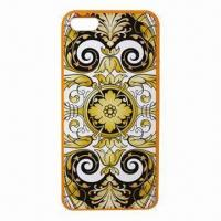 Quality Medley DIY Mobile Phone Cases for iPhone 5G, Made PC + TPU Materials for sale