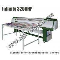 Quality infinit FY-3208HF flatbed solvent printer (seiko SPT510 35pl head) for sale