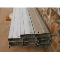 Quality Automatic Drilled Holes Steel Building Purlins, Cold Rolled Steel C Purlin for sale