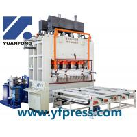 Quality Short cycle lamination press line/hydraulic hot press machine/hot press machine for sale