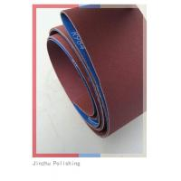 Quality Low Noise Custom Sanding Belts , Abrasive Cloth Belt With Small Dust for sale