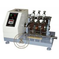 China ASTM - D1630 Leather Testing Equipment Rubber Abrasion Testing Machine on sale