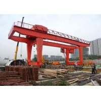 35ton Heavy Duty Gantry Crane , Electric Runway Traveling Overhead Gantry Crane