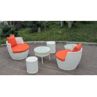Quality UV Resistant Fashion Obelisk Chair With Round Tea / Coffee Table for sale