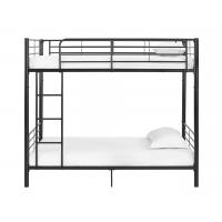 China Hotel Twin Over Twin Iron Bunk Beds 0.6-1.5mm Thick Steel Pipe Easy Clean on sale